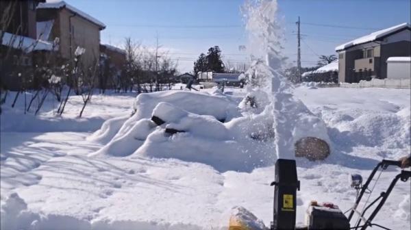 画像:家庭用除雪機|ハイガー