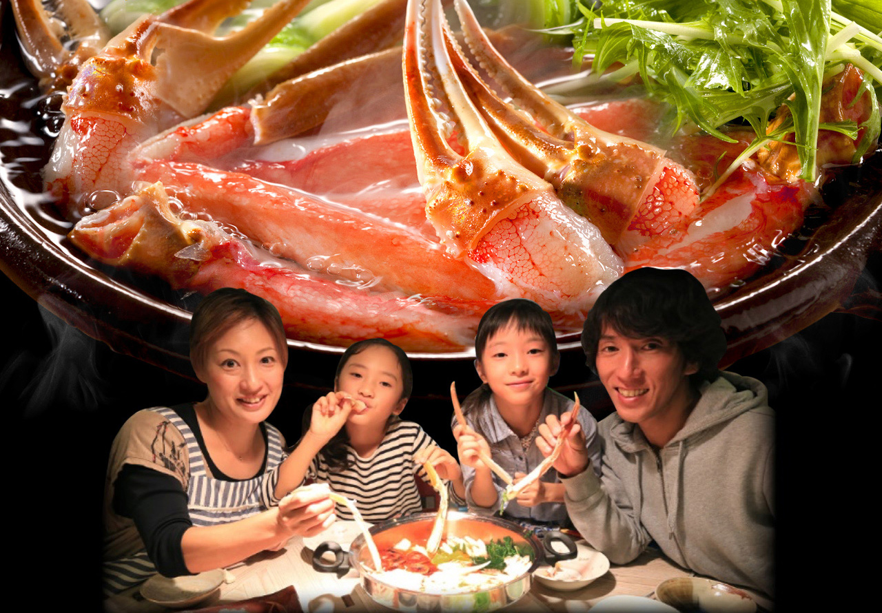 画像:【人気No.2】カット済み生ほんずわい蟹「かに伝説」