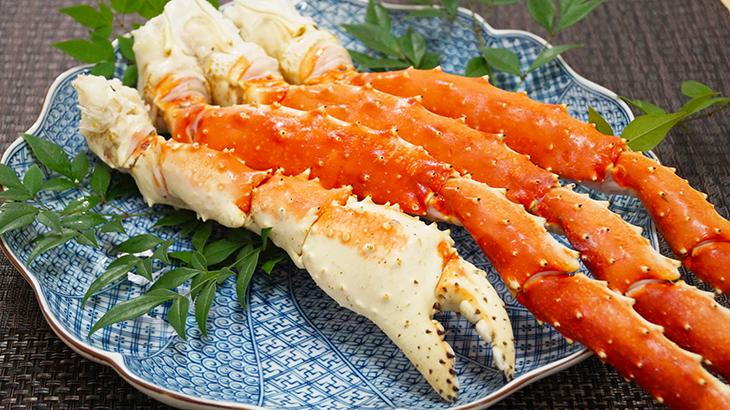 画像:いつも海の幸なのにYAMATO「特大タラバ蟹」