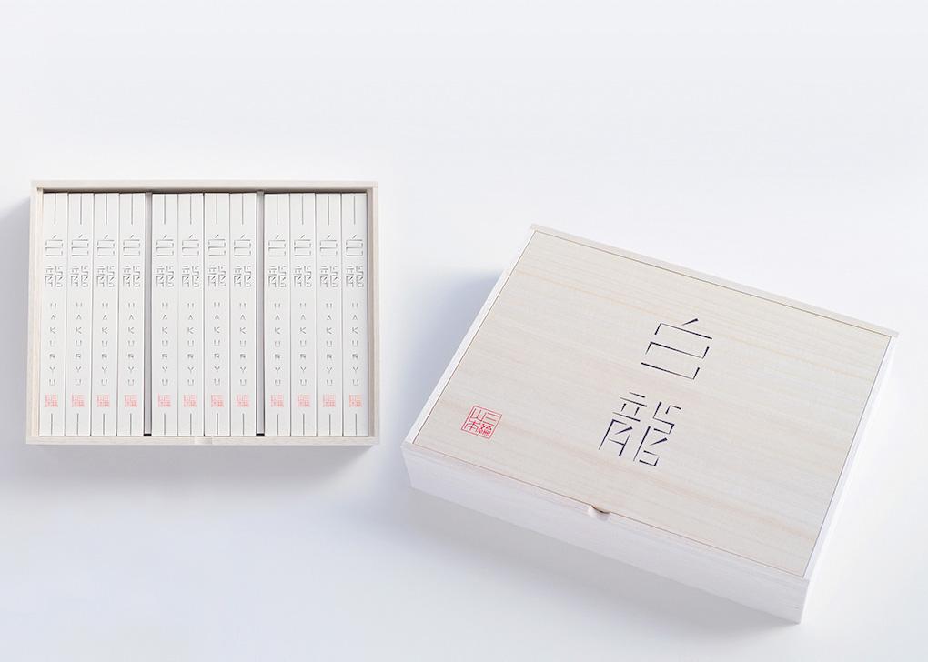 画像:三輪山本の手延べ素麺(そうめん)「白龍」